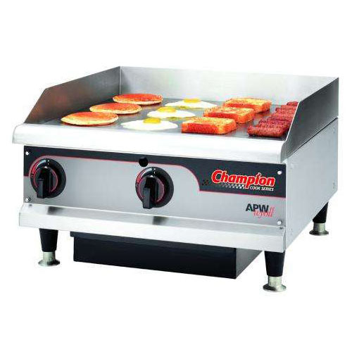 Buy APW Wyott EGH Champion Countertop Electric Griddle At Kirby - Apw wyott steam table