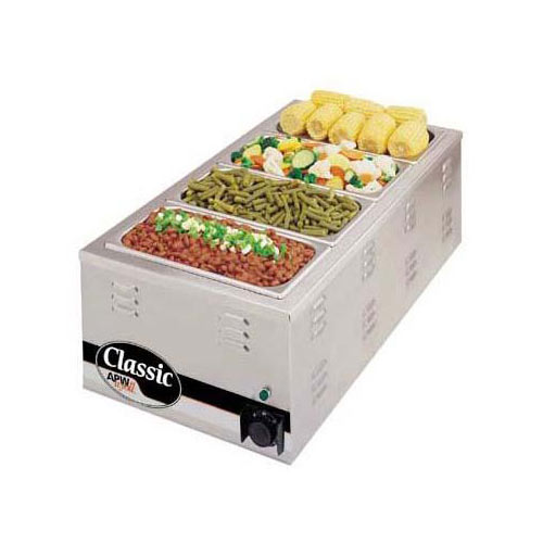 "APW Wyott Classic Countertop Food Warmer 12"" x 27"" W-43V"