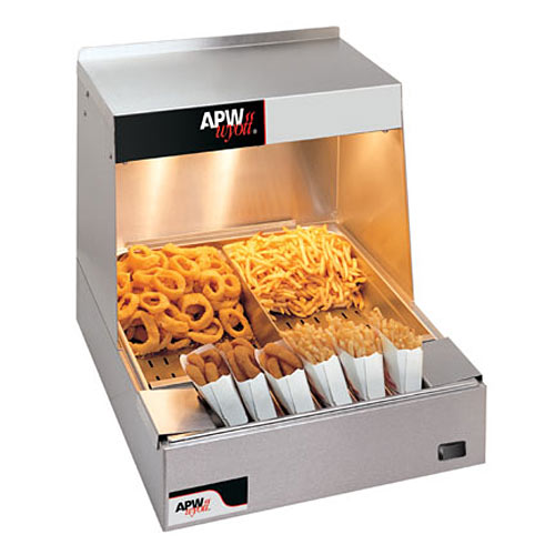 APW Wyott C*Radiant Countertop Fry Holding Station CFHS-21