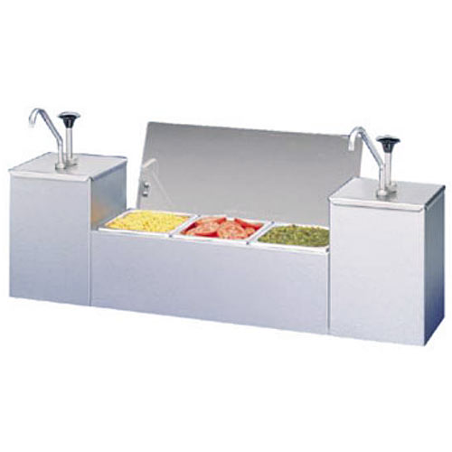 APW Wyott Condiment Serving Station CSS-DTS-2