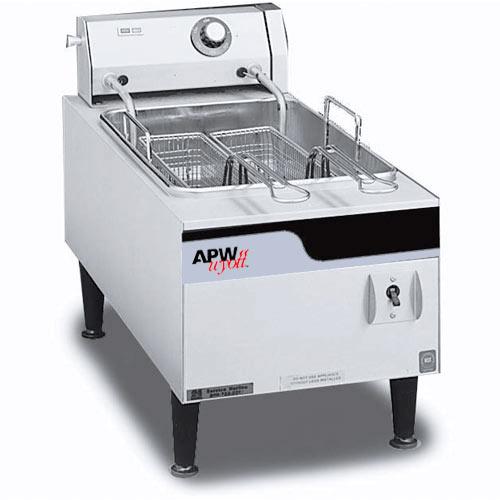 APW Wyott Countertop Electric Fryer EF-15N