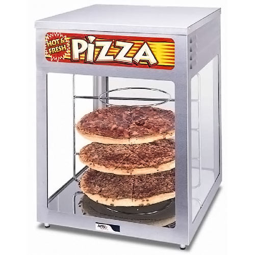 APW Wyott Pass Thru Heated Display Cabinet - Pizza HDC-4P