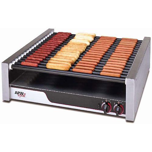 APW Wyott Super HotRod Flat Roller Grill - Tru-Turn Surface Rollers HRS-85