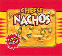 Hot Cheese Nachos