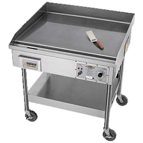 "Accutemp Accu-Steam™ Electric/Steam-Heated Stand-Mounted Griddle 36"" EGF2083A3650-S2"