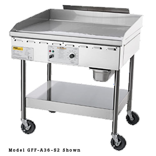 "Accutemp Accu-Steam™ Gas/Steam-Heated Stand-Mounted Griddle 48"" GGF1201B4850-S2"