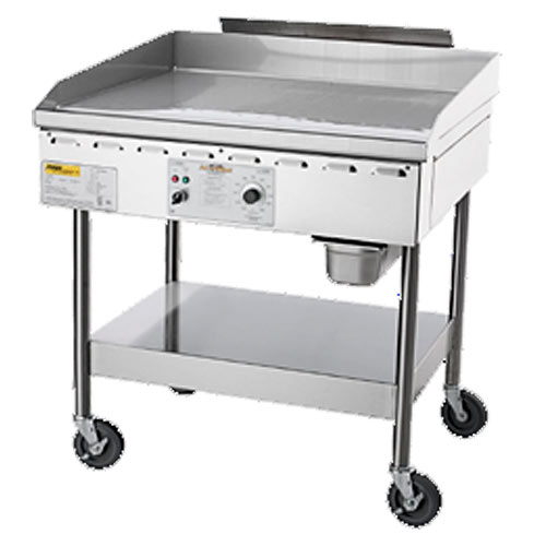 "Accutemp Accu-Steam™ Gas/Steam-Heated Stand-Mounted Griddle 36"" GGF1201A3650-S2"