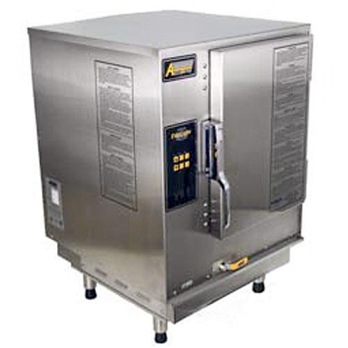 Accutemp Evolution Gas Boilerless Countertop Convection Steamer - 6 Pan N61201E060