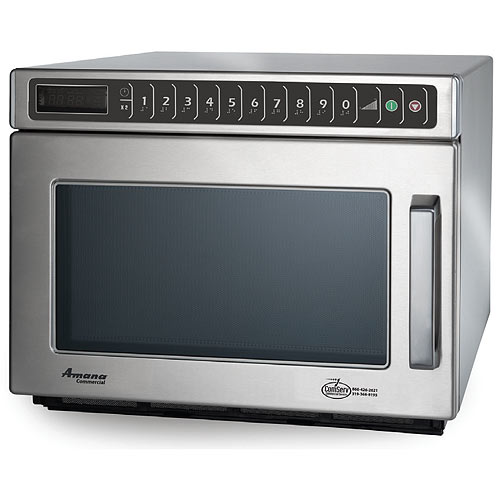 Amana Heavy Volume Commercial Microwave -1200 Watt w/ Touch controls HDC12A2