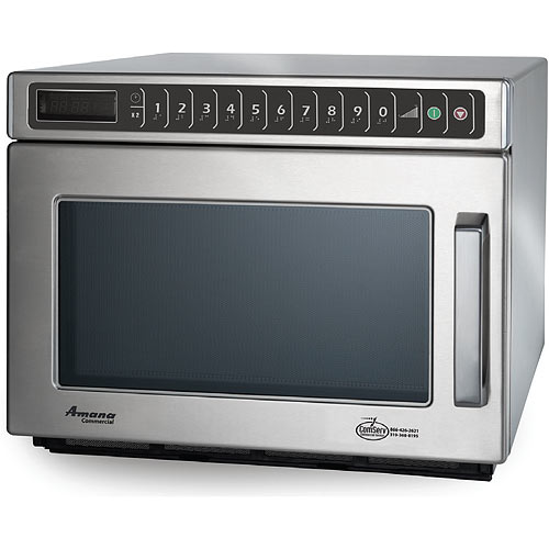 Amana Heavy Volume Commercial Microwave -1800 Watt w/ Touch controls HDC182