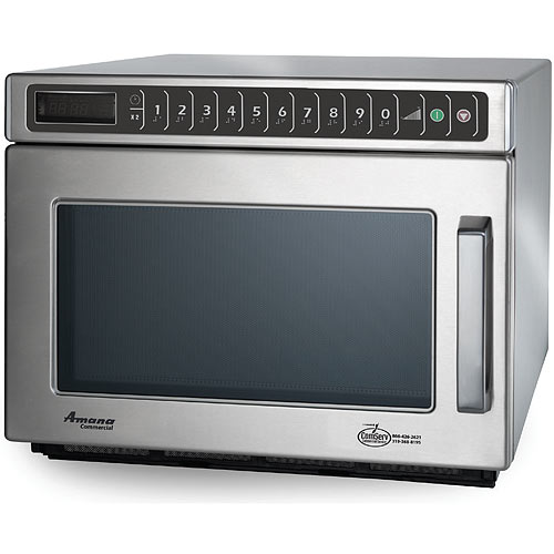 Amana Heavy Volume Commercial Microwave -2100 Watt w/ Touch controls HDC212