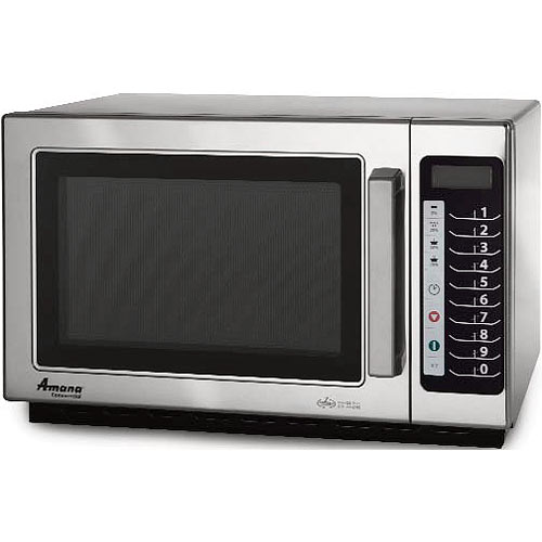 Amana Medium Volume Commercial Microwave -1000 Watt w/ Touch controls RCS10TS