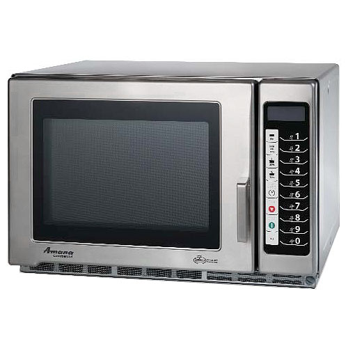 Amana Medium Volume Commercial Microwave -1200 Watt w/ Touch controls RFS12TS