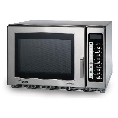Amana Medium Volume Commercial Microwave -1800 Watt w/ Touch controls RFS18TS