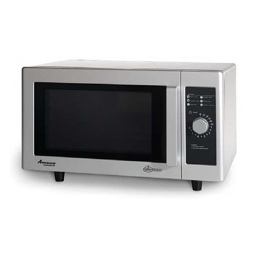 Amana Low Volume Commercial Microwave -1000 Watt w/ Dial Timer RMS10DS