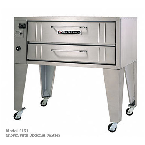 Baker's Pride Stubby Gas Triple Deck Pizza Oven 153
