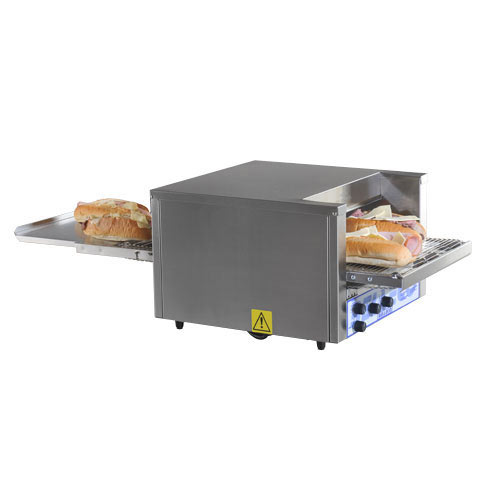 "Belleco Electric Conveyor Pizza Toast/Bake Oven - 10 1/2"" JB2-H"