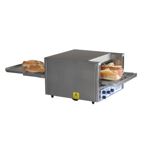 "Belleco Electric Conveyor Pizza Toast/Bake Oven - 14 1/2"" JB3-H"