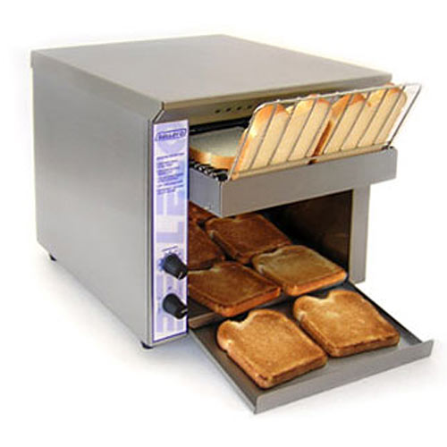 Belleco Electric S/S Conveyor Toaster - 350 Slices p/h JT1