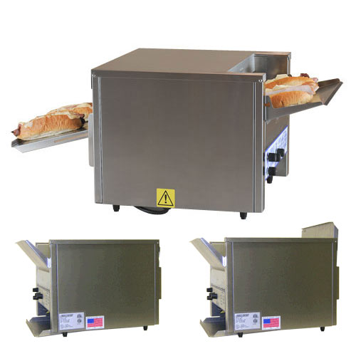 "Belleco Dawn-2-Dusk Electric Conveyor Toaster/Converter Oven - 10 1/2"" JT2-HC"