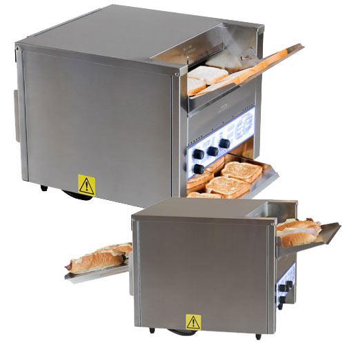 "Belleco Dawn-2-Dusk Electric Conveyor Toaster/Converter Oven - 14 1/2"" JT3-HC"