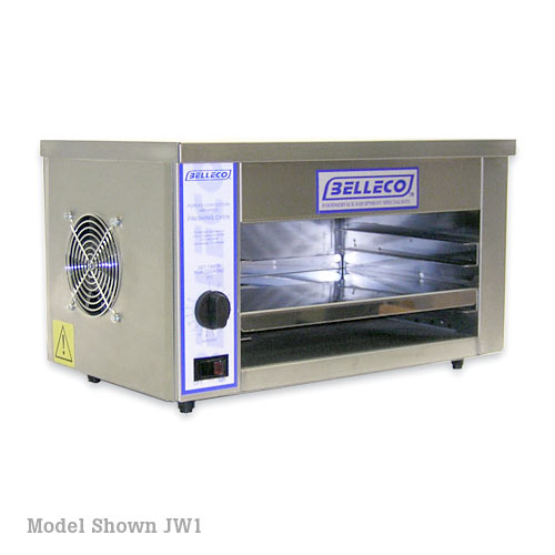 "Belleco 20 1/4"" Electric Countertop Cheesemelter/Warming Oven JW2"