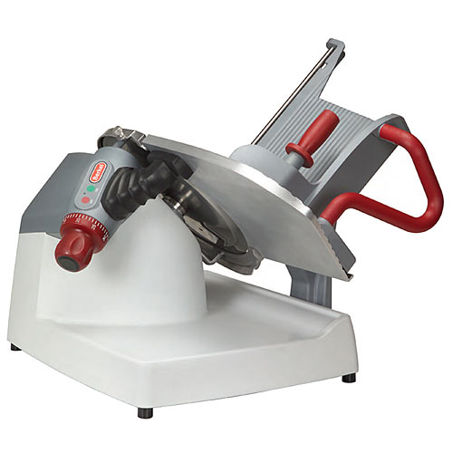 "Berkel X- Series Manual Gravity Feed Slicer w/ Gauge Plate - 13"" X13-PLUS"