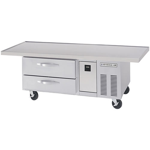 "Beverage Air 72"" Chefs Base - 2 Drawers WTRCS52-1-72"
