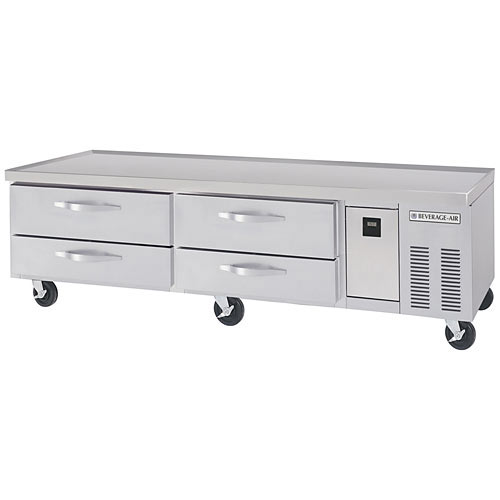 "Beverage Air 84"" Chefs Base - 4 Drawers WTRCS84-1"