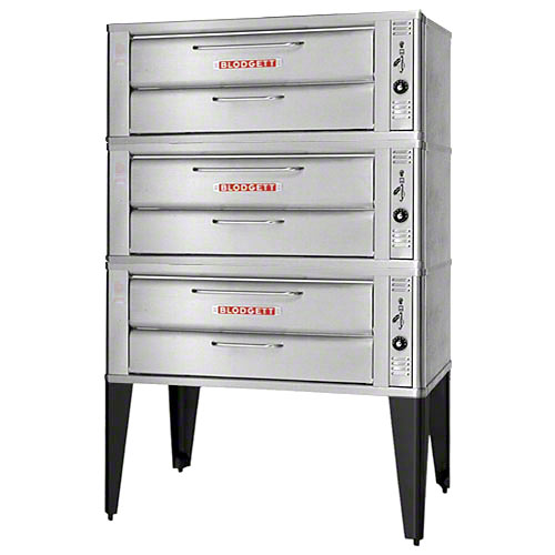 Blodgett Countertop Triple Gas Deck Oven 911 TRIPLE