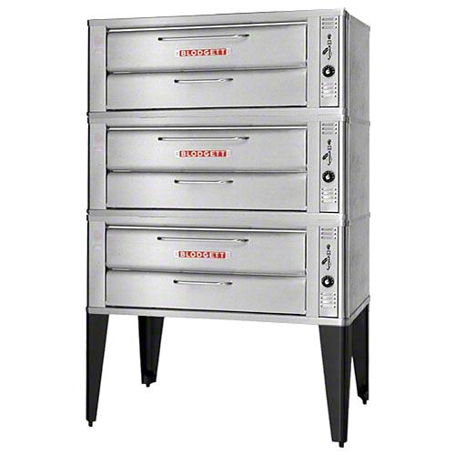 Blodgett Countertop Triple Gas Pizza Deck Oven 911P TRIPLE