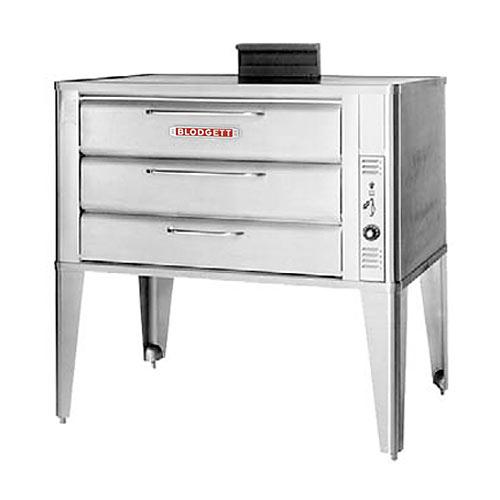 "Blodgett Single Gas Deck Oven - 2 7"" H 981 SINGLE"