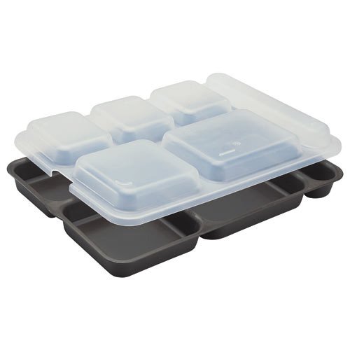 Cambro Co-Polymer Separator Compartment Tray -  Brown 10146DCP167