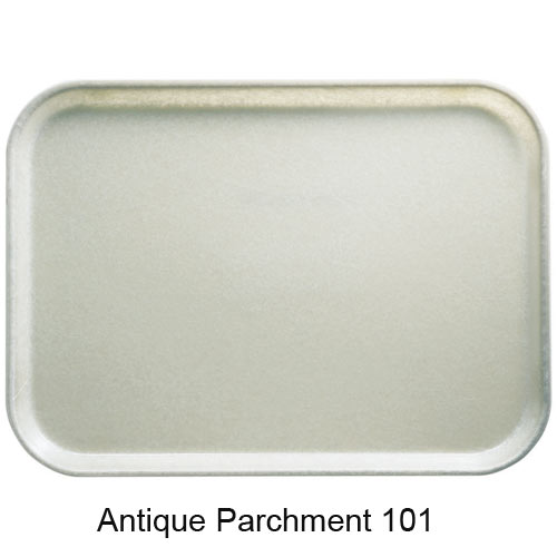 "Cambro Round Camtray - 10"" Antique Parchment 1000101 2"