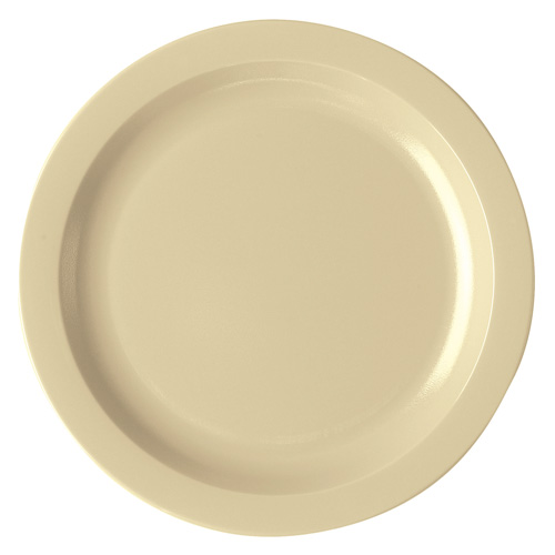 Cambro Camwear® Polycarbonate Narrow Rim Plate 10  - Beige 10CWNR133  sc 1 st  Kirby Restaurant Supply & Shop Cambro Polycarbonate Plates - Cambro Dinnerware at Kirby