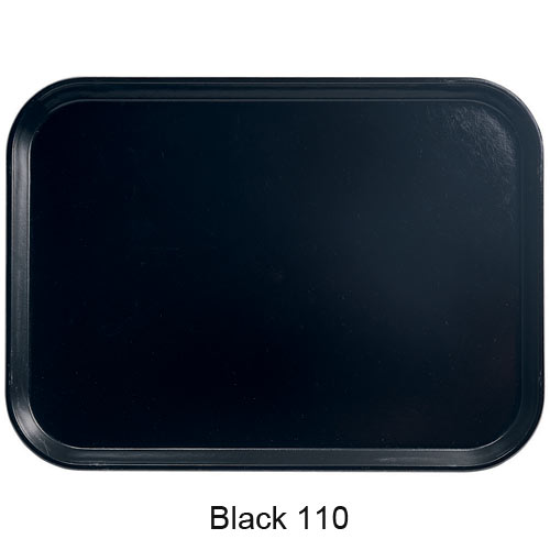 "Cambro Round Camtray - 12"" Black 1200110 2"