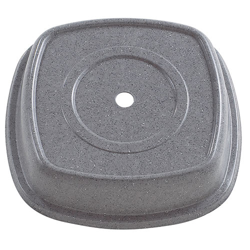 "Cambro Square Versa Camcovers® 11 1/8"" - Granite Gray 1111SMVS191"