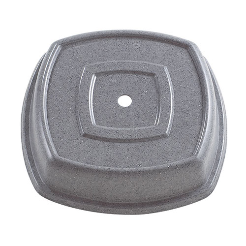 "Cambro Square Versa Camcovers® 11 1/8"" - Granite Gray 1111SQVS191"