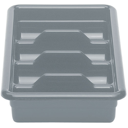 Cambro Poly Cambox® 4 Compartment Cutlery Box - Light Gray 1120CBP180