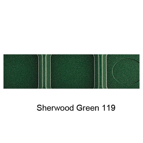 Cambro Camwear School Compartment Tray -  Sherwood Green 10146CW119 2