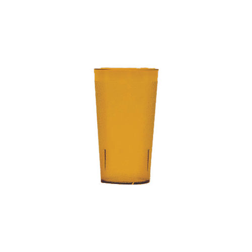 Cambro Colorware Stackable Tumblers 24/PK - Amber 12.6 oz 1200P2153