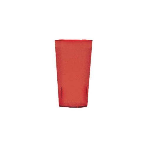 Cambro Colorware Stackable Tumblers 24/PK - Ruby Red 12.6 oz 1200P2156
