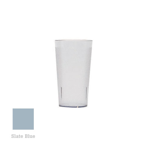 Cambro Colorware Stackable Tumblers 72/PK - Slate Blue 12.6 oz 1200P401
