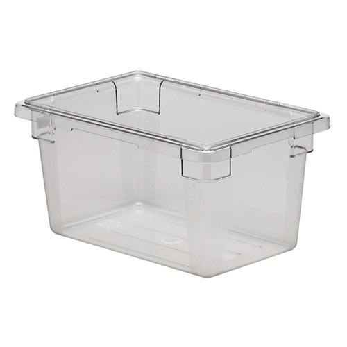 Cambro Half Size Camwear Food Box - 4 3/4 gal  12189CW135
