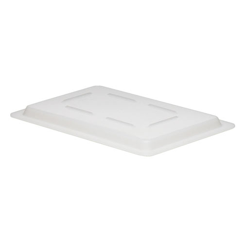 "Cambro White Flat Lids for Food Boxes - 12"" x 18"" 1218CP148"