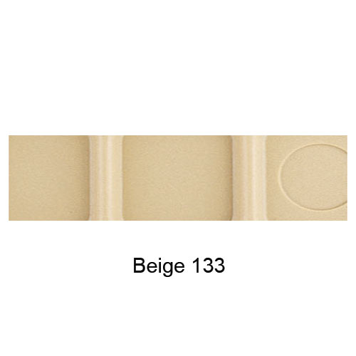Cambro Camwear School Compartment Tray -  Beige 10146CW133 2