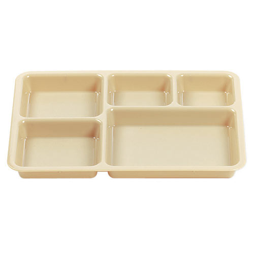 Cambro Tray on Tray Meal Delivery System - Base -  Beige 1411CW133