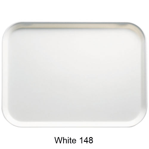 "Cambro Rectangular Camtray - 16"" x 22"" White 1622148"