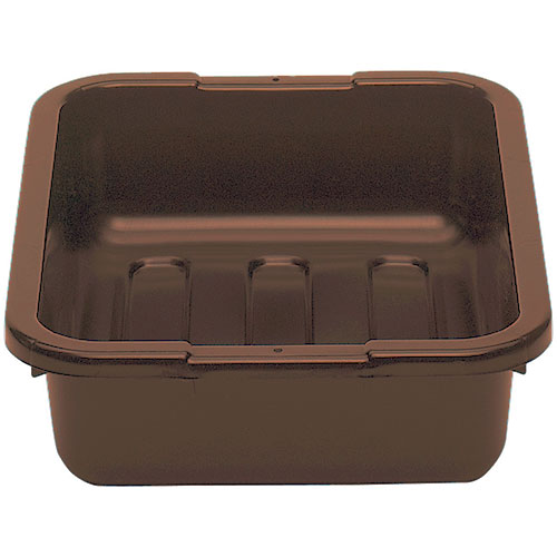 "Cambro Poly Cambox® 15"" x 20"" - Dark Brown 1520CBP131"