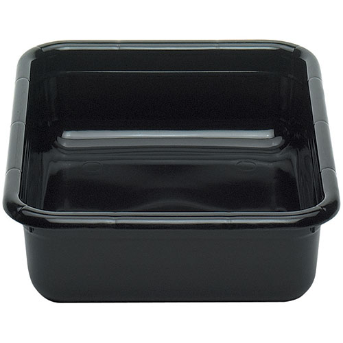 "Cambro Poly Cambox® Flat Bottom 15"" x 20"" - Black 1520CBPF110"
